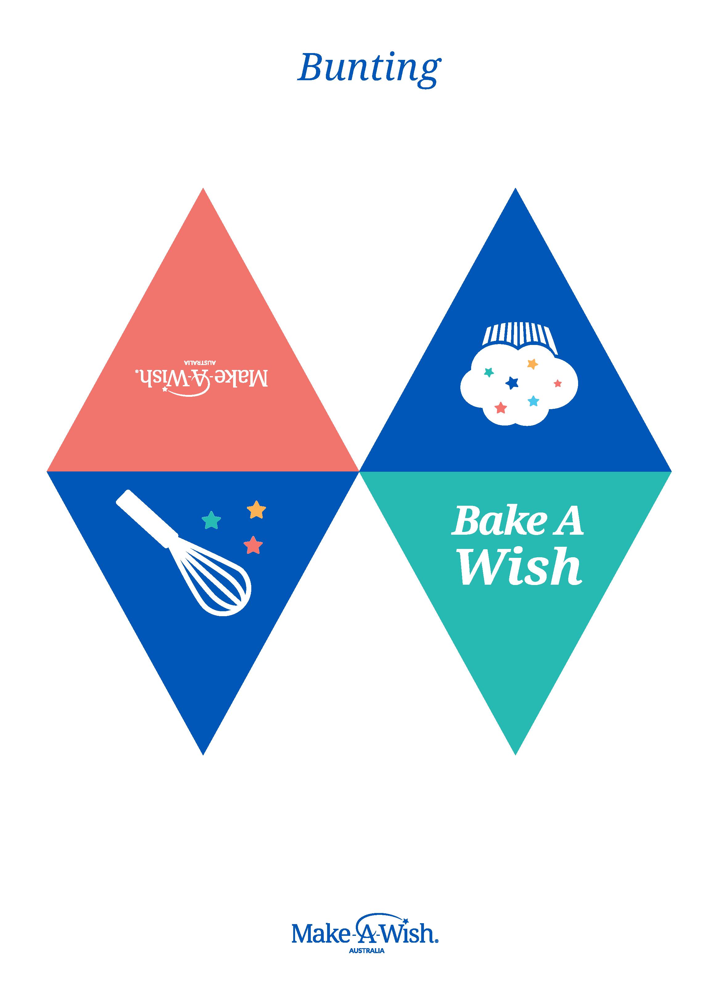 Bake A Wish Bunting