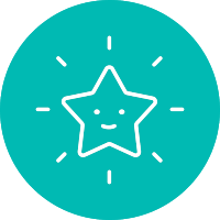 Icon of a star